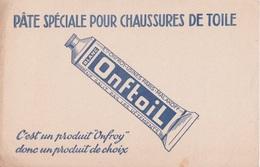 BUVARD - ONFTOIL - PATE SPECIALE POUR CHAUSSURES DE TOILE - PRODUIT ONFROY  DONC PRODUIT DE CHOIX - Chaussures