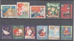 DANMARK,DENMARK CHRISTMAS CHARITY -JUL LABELS ,VIGNETTE - Christmas