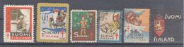 SUOMI FINLAND  CHRISTMAS CHARITY -JUL LABELS ,VIGNETTE - Christmas