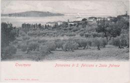 1900circa-Trasimeno Panorama Di San Feliciano E Isola Polvese - Perugia