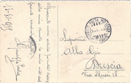 1915- Cartolina Illustrata Annullo Ufficio Posta Militare Int.za 1 Arm. - 1900-44 Victor Emmanuel III