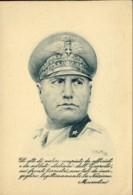 1942-Mussolini,cartolina Postale In Franchigia Con Raro Bollo Del C.S.I.R. Corpo Spedizione Italiano Russia - Weltkrieg 1939-45