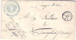 1861-Armata Sarda-Lettera Completa Di Testo Da Bologna A Travagliato.Mobilitazione Per L'occupazione Del Regno Delle Due - 1861-78 Victor Emmanuel II