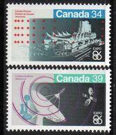 Canada - #1078-79 - MNH - 1952-.... Reign Of Elizabeth II