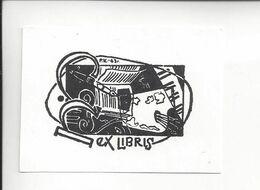 Ex Libris.70mmx50mm. - Bookplates