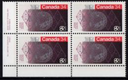Canada - #1092 Block Of 4 - MNH - 1952-.... Reign Of Elizabeth II