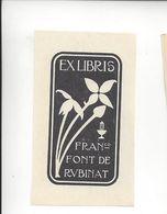 Ex Libris.50mmx80mm. - Bookplates