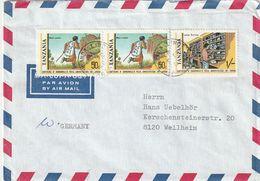 Tansania / 1982 / Lupo-Brief MiF Nach Deutschland (CK04) - Tansania (1964-...)