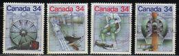 Canada - #1099-1102(4) - Used - 1952-.... Reign Of Elizabeth II