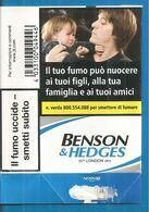 BENSON & HEDGES BLU SOFT ITALY BOX SIGARETTE - Schnupftabakdosen (leer)