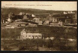 Walcourt - Panorama De St-Pierre Et Des Quairelles - Usine De L'éclairage électrique - Circulée - Edit. Aug. Bertrand - - Walcourt