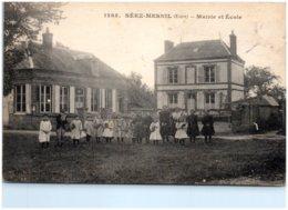 27 SEEZ-MESNIL - Mairie Et école - Other Municipalities