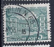 Allemagne Berlin - Germany - Deutschland 1949 Y&T N°30 - Michel N°44 (o) - 5p Château De Tegel - Oblitérés