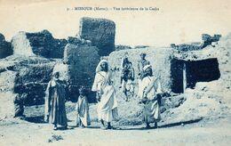 MISSOUR (Maroc)  - Vue Intérieure De La Casba - Photo Boumendil - Cpa Rare - Animée - Très Bon état - 2 Scans - Altri