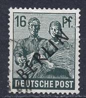 Allemagne Berlin - Germany - Deutschland 1948 Y&T N°7 - Michel N°7 (o) - 16p Paysanne Et Ouvrier - Oblitérés