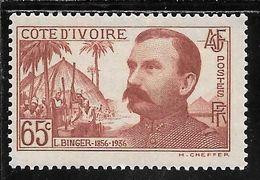 COTE D' IVOIRE  N°139 ** TB SANS DEFAUTS - Nuovi