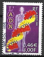 FRANCE  -   2001.  Y&T N° 3423 Oblitéré .    CACHET ROND  .  L'  A.D.N. - France