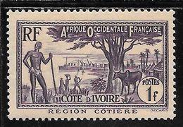 COTE D' IVOIRE  N°157 ** TB SANS DEFAUTS - Nuovi