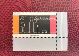 EUROPA CEPT ALLEMAGNE 1 V Neuf MNH ** YT 2282 Mi 2457 Gastronomie Gastronomy Deutschland - Europa-CEPT