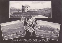 1955circa- Bergamo Saluti Dal Piano Della Pal� Presolana E Rifugio Magnolini - Bergamo