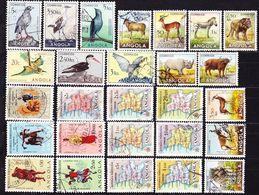 20-147 Angola 1951-1958 Lot Of Stamps Used O - Angola