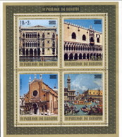 "1972-(MNH=**) Burundi Foglietto S.4v.""Unesco,salvaguardia Di Venezia"" - Burundi"