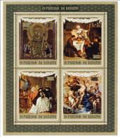 "1972-(MNH=**) Burundi Foglietto S.4v.""Unesco,salvaguardia Di Venezia"" - 1970-79: Neufs"