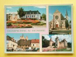 V11-03-l'alier-dompierre Sur Besbre-- Multivues-hotel De Ville-eglise- Placecommerce- Vhateau De Thoury-- - Frankrijk