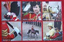 Trooping The Colour Queen Army (Mi 2308-2313) 2005 POSTFRIS MNH ** ENGLAND GRANDE-BRETAGNE GB GREAT BRITAIN - 1952-.... (Elizabeth II)