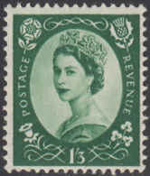 Great Britain 1956 MNH Sc 332 1sh3p QEII - 1952-.... (Elisabetta II)