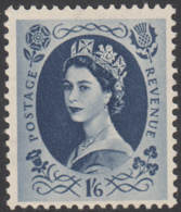 Great Britain 1955 MH Sc 333 1sh6p QEII - 1952-.... (Elisabetta II)