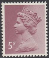 Great Britain 1984 MNH Sc MH53 5p Machin - Machins