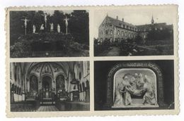 Moresnet-Kapelle Chapelle Un Bonjour 1940 Stemp Heimkehr Ins Vaterland Postkarte - Plombières
