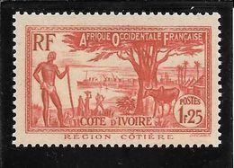 COTE D' IVOIRE  N°125 ** TB SANS DEFAUTS - Nuovi