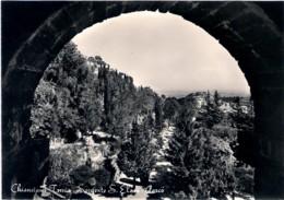 1959- Cartolina Foto Chianciano Terme Sorgente Sant'Elena Affrancata L.15 Siracusana Segno Di Tassazione - Siena