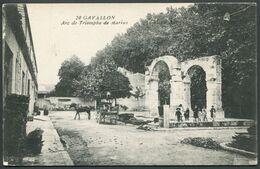 Gavallon (! Noter La Faute) - Cavaillon Arc De Triomphe De Marius - N° 20 - Voir 2 Scans - Cavaillon