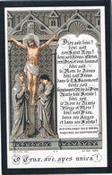 Priez Pour. Hardenpont Leopold. Veuf. Monjot Louise. ° Mons .... † Mons 1886  (2 Scan's) - Religione & Esoterismo