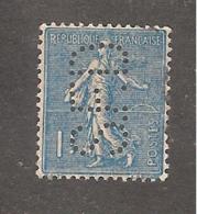 Perforé/perfin/lochung France No 205 S.F.D (88) - France