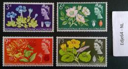 Groot-Brittanië 1964 Internationaal Botanisch Congres Edinburgh - 1952-.... (Elisabetta II)
