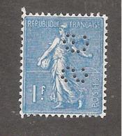 Perforé/perfin/lochung France No 205 SG Société Générale (93) - France