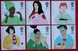 EUROPA CEPT Changing Tastes In Britain (Mi 2326-2331) 2005 POSTFRIS MNH ** ENGLAND GRANDE-BRETAGNE GB GREAT BRITAIN - 1952-.... (Elizabeth II)