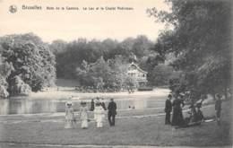 BRUXELLES - Bois De La Cambre.  Le Lac Et Le Chalet Robinson. - Parks, Gärten