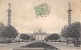 BRUXELLES - Le Cinquantenaire - Vue Du Parc Et De L'Arcade. - Forests, Parks