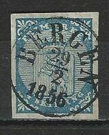 Norwegen Mi 1 O Bergen 29.2.1856 (leap Day) - Norvegia