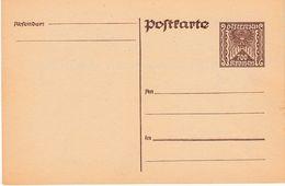 ÖSTERREICH 1922 - P 266 Nicht Gelaufen - Enteros Postales