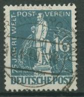 Berlin 1949 75 Jahre Weltpostverein UPU, Heinrich Von Stephan 36 TOP-Stempel - Oblitérés