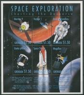 Grenada 1999 Weltraumforschung Kleinbogen 3834/39 K Postfrisch (C94594) - Grenada (1974-...)