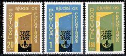 !■■■■■ds■■ Portugal 1960 AF#851-853* Refugees Complete Set (x13095) - 1910-... República