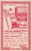 BUVARD - PATE COLORAN XENOL MOJAU POUR CHAUSSURES DE CUIR CLAIR  1951 - Chaussures