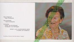 Mariette Polfliet-Vandeputte, Waregem 1926, 2014 - Obituary Notices